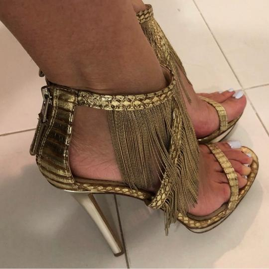 B Brian Atwood gold Formal Image 4