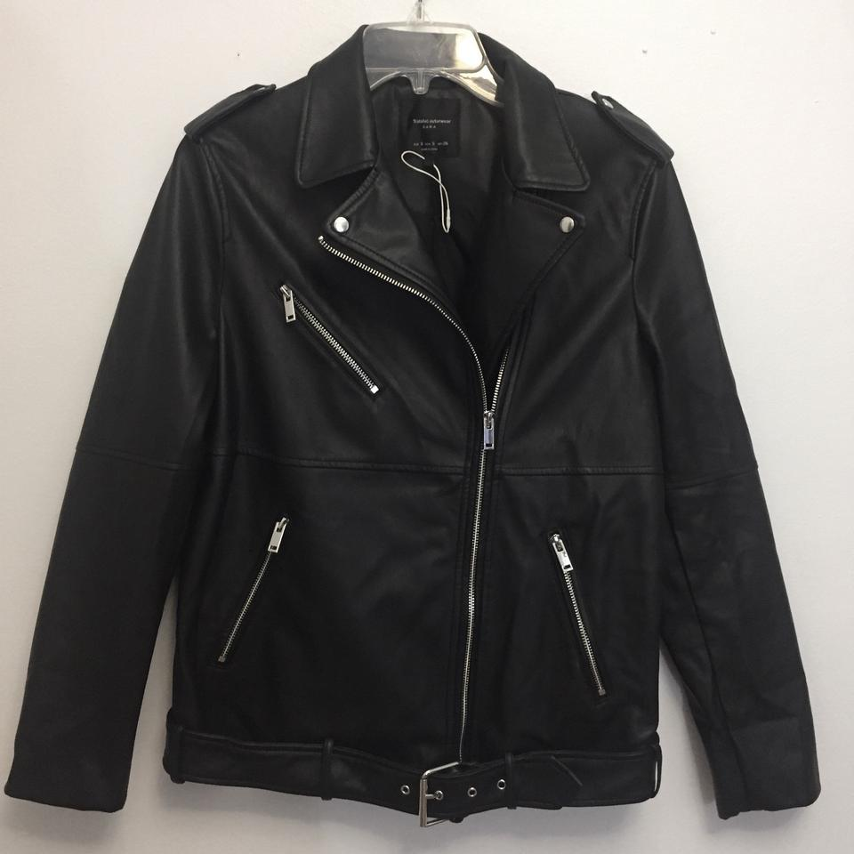 42d8aafe Zara Black Girls Rule Jacket Size 6 (S) - Tradesy
