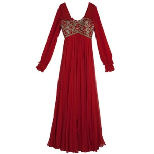 Red Maxi Dress by Marchesa