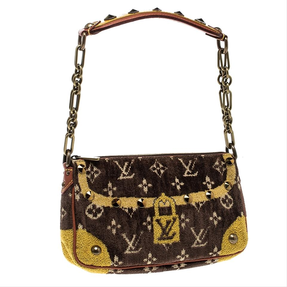 967444b99672 Louis Vuitton Velvet Limited Edition Trompe L oeil Pochet ...
