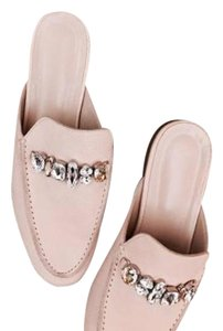 Brother Vellies Pink Flats
