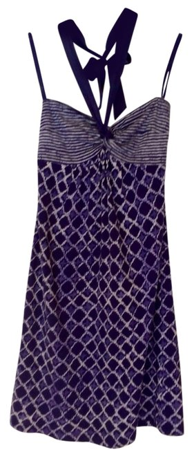 Ann Taylor LOFT short dress Purple on Tradesy