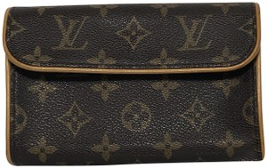 Louis Vuitton Monogram Florentine Florentine Bum Florentine Monogram Canvas Cross Body Bag