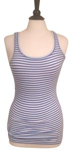 Theory Top Blue and white