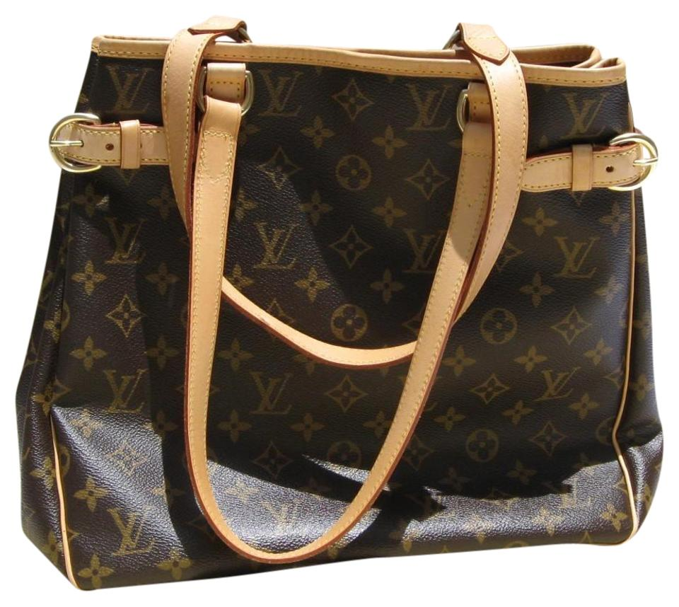 46b8efdf9917 Louis Vuitton Batignolles Vertical Mon Sd0027 Brown Canvas Baguette ...