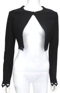 ALAÏA Black Neoprene Jacket