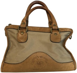 Ghurka Leather Marley Hodgson Vintage The Keeper Tote in brown/ tan