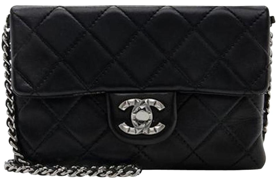 a7764b75cc3f Chanel Mineral Nights Mini Flap Classic Quilted Cc Woc Wallet On A ...