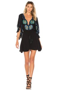 Free People Cora Minidress Beach Cover-Up