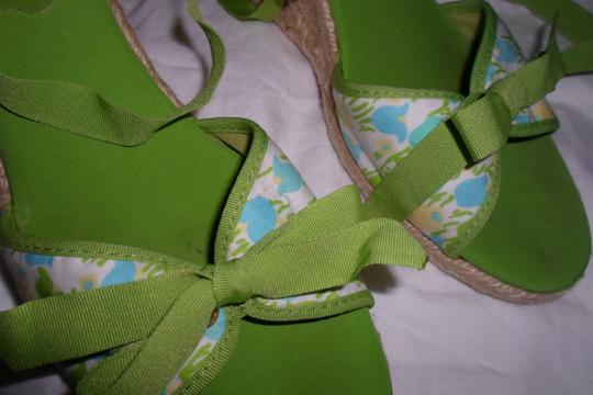 LILLY PULITZER GREEN Sandals