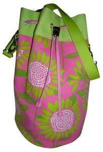 Lilly Pulitzer GREEN MULTI Beach Bag