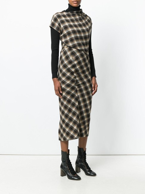 plaid Maxi Dress by toile Isabel Marant