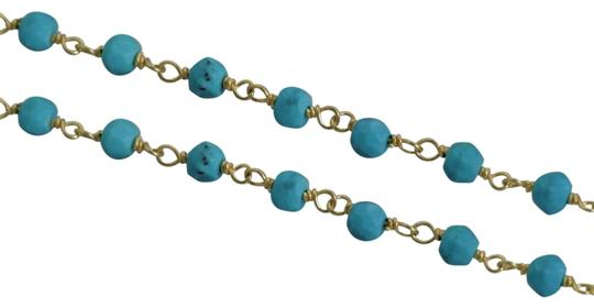Preload https://img-static.tradesy.com/item/23660727/turquoise-gold-plated-sterling-silver-gold-necklace-0-1-540-540.jpg