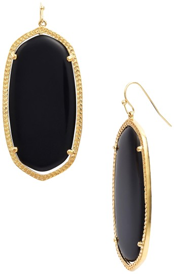 Preload https://item1.tradesy.com/images/kendra-scott-gold-black-danielle-onyx-earrings-23660735-0-1.jpg?width=440&height=440