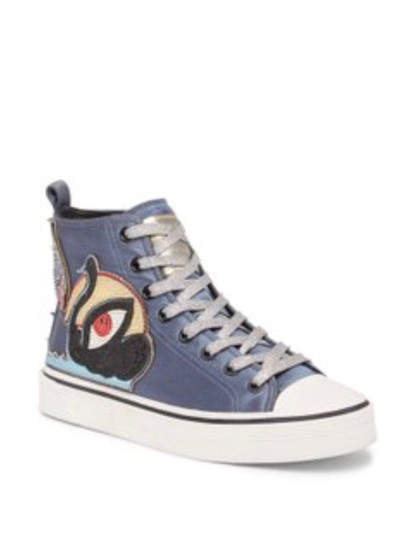 Preload https://img-static.tradesy.com/item/23660748/marc-jacobs-blue-swan-hi-top-sneakers-size-us-7-regular-m-b-0-0-540-540.jpg