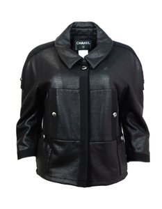 Chanel Cropped Plus black Jacket