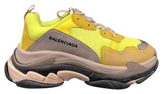 Preload https://img-static.tradesy.com/item/23660752/balenciaga-yellow-triple-s-sneaker-womens-neon-grey-speed-flat-trainers-sneakers-size-eu-39-approx-u-0-1-540-540.jpg