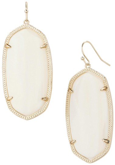 Preload https://img-static.tradesy.com/item/23660760/kendra-scott-gold-opaque-white-danielle-onyx-earrings-0-1-540-540.jpg