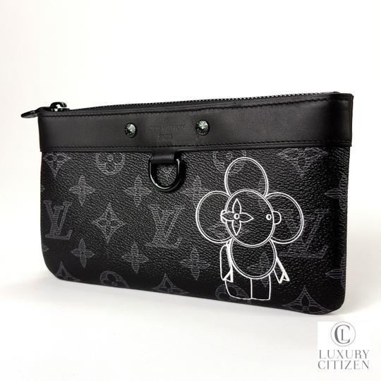 Louis Vuitton Pochette Apollo Eclipse Vivienne Black Clutch