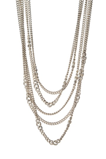 Preload https://item2.tradesy.com/images/david-yurman-silver-multi-strand-chain-link-necklace-23660781-0-0.jpg?width=440&height=440