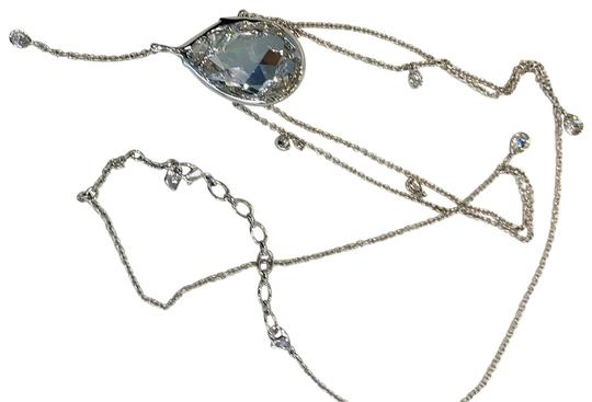 Preload https://img-static.tradesy.com/item/23660801/swarovski-crystal-new-in-box-liquid-long-necklace-0-2-540-540.jpg