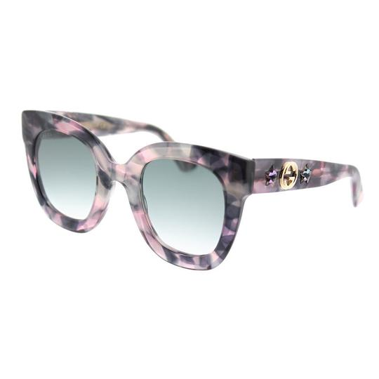 Preload https://img-static.tradesy.com/item/23660805/gucci-pink-havana-blue-gradient-gg0207s-004-round-sunglasses-0-0-540-540.jpg