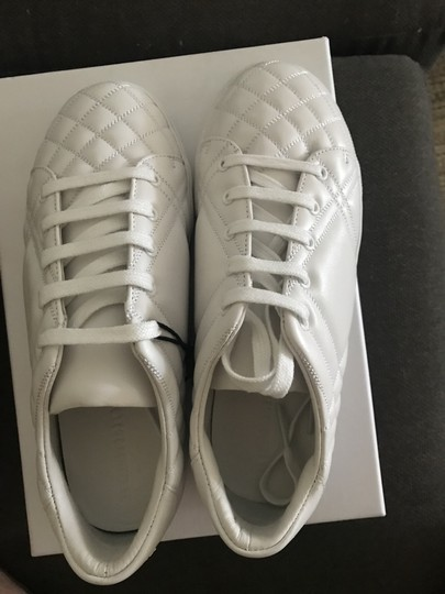 Burberry White Athletic