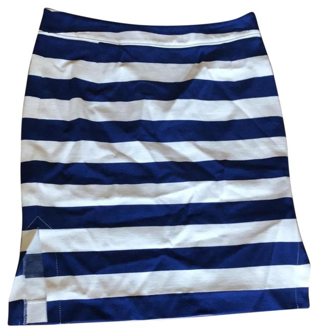 Preload https://item1.tradesy.com/images/banana-republic-royal-blue-and-white-stripe-6302620010004-knee-length-skirt-size-petite-4-s-23660890-0-1.jpg?width=400&height=650