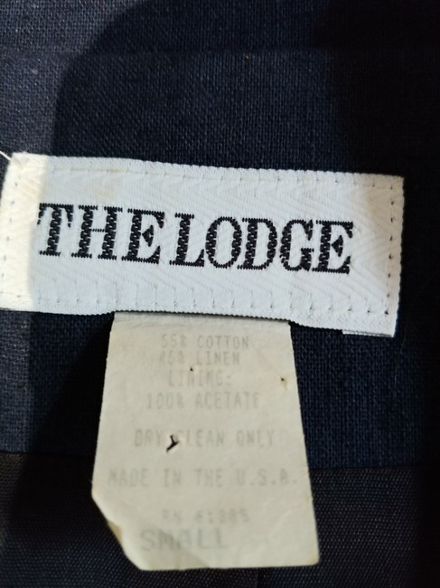 THE LODGE Navy Blue Blazer