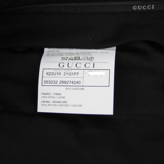 Gucci Blue Striped Wool Suit 2 Button 2 Vents It 52r/Us 42r 353232 4240 Groomsman Gift