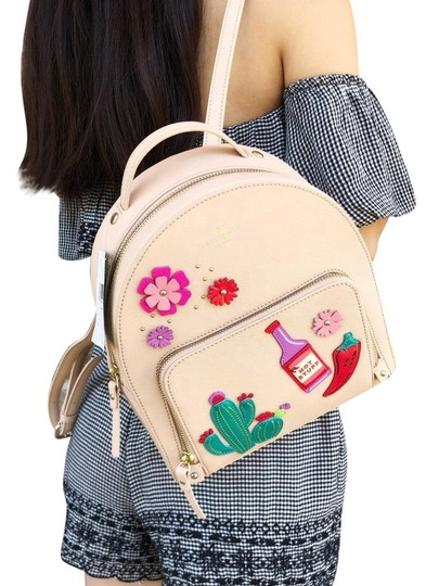 Preload https://item3.tradesy.com/images/kate-spade-cactus-tomi-new-horizons-cashew-leather-backpack-23660947-0-1.jpg?width=440&height=440