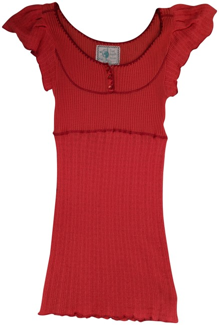 Preload https://item5.tradesy.com/images/free-people-red-breathable-blouse-size-8-m-23660969-0-1.jpg?width=400&height=650