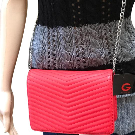 Preload https://item1.tradesy.com/images/wildest-dreams-quilted-red-faux-leather-cross-body-bag-23660980-0-2.jpg?width=440&height=440