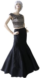 Jovani Prom Evening Bling Halter Mermaid Dress