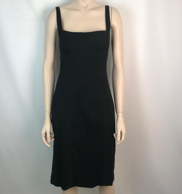 Narciso Rodriguez Exposed Zipper Stretchy Sheath Fitted Spaghetti Strap Dress