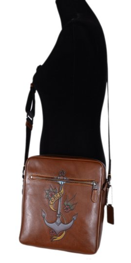 Coach Purse Crossbody Brown Messenger Bag