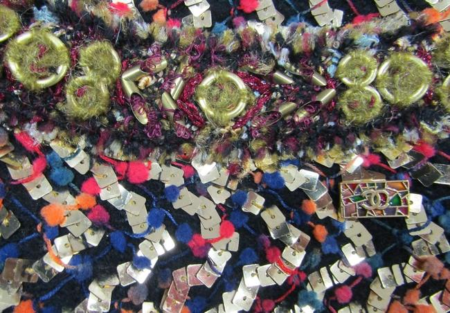 Chanel Sequin 2011 Embroidered Multicolor Jacket