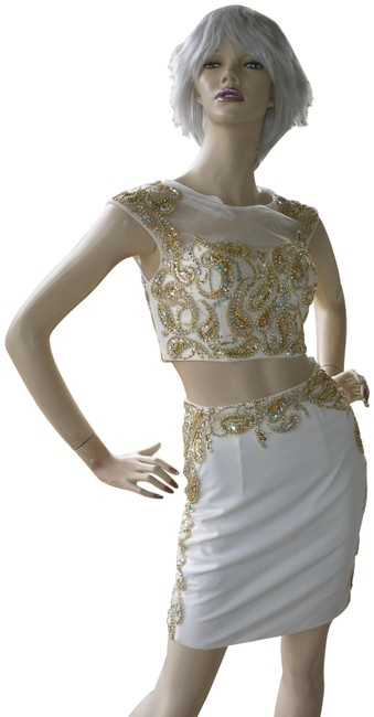Preload https://img-static.tradesy.com/item/23661119/jovani-white-gold-2-piece-pencil-home-coming-prom-26939a-short-formal-dress-size-0-xs-0-1-650-650.jpg