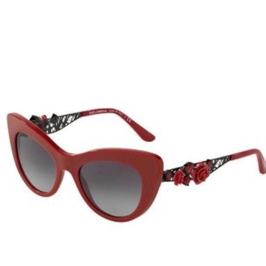 Preload https://item3.tradesy.com/images/dolce-and-gabbana-red-gold-cat-eye-rosed-sunglasses-23661137-0-0.jpg?width=440&height=440
