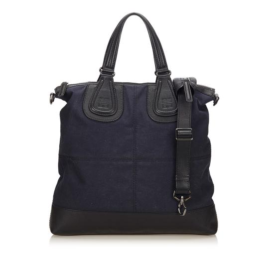 Preload https://img-static.tradesy.com/item/23661157/givenchy-nightingale-shopper-blue-fabric-x-canvas-x-leather-x-others-tote-0-0-540-540.jpg