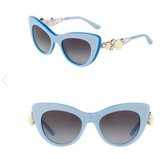 Preload https://item5.tradesy.com/images/dolce-and-gabbana-sky-blue-cat-eye-roses-sunglasses-23661164-0-0.jpg?width=440&height=440