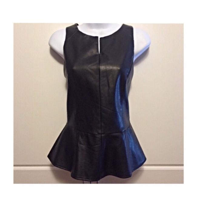 Preload https://item5.tradesy.com/images/tinley-road-black-faux-leather-peplum-night-out-top-size-2-xs-23661169-0-0.jpg?width=400&height=650