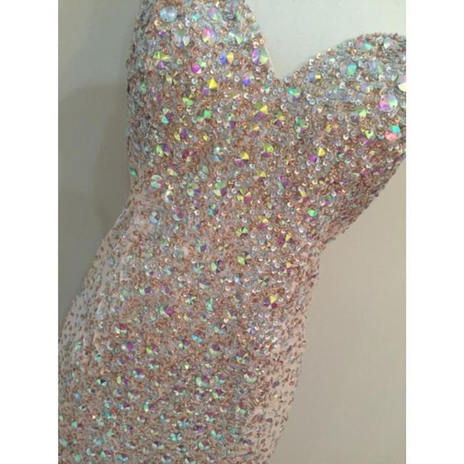 Terani Couture Glitter Bling Prom Mermaid Pageant Dress