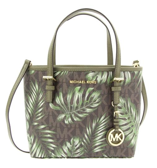 Preload https://item4.tradesy.com/images/michael-kors-jet-set-xs-carryall-multicolor-coated-canvas-tote-23661203-0-2.jpg?width=440&height=440