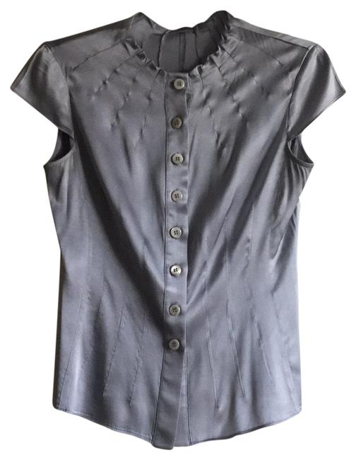 Preload https://item1.tradesy.com/images/armani-collezioni-silver-grey-button-down-top-size-4-s-23661220-0-1.jpg?width=400&height=650