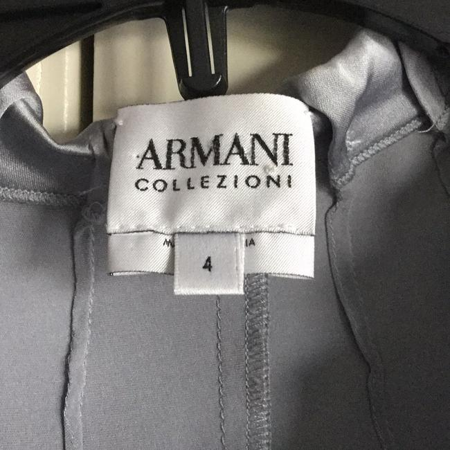 Armani Collezioni Button Down Shirt Silver grey