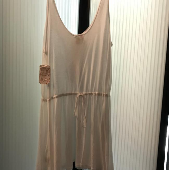 Free People short dress white with crystal embellishments on Tradesy