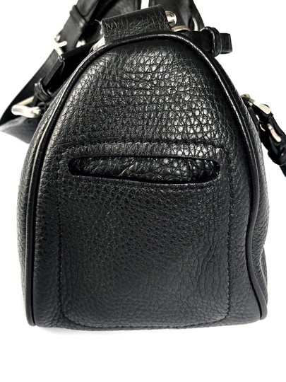 Prada Silver Tote Zip Front Shoulder Bag