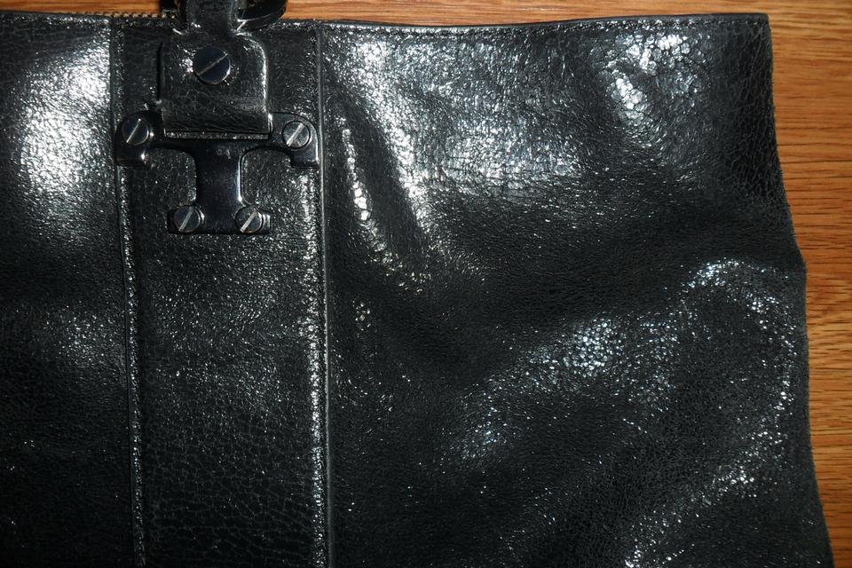 bf821d6c1bec Tory Burch Nico East West Purse Black Leather Tote - Tradesy