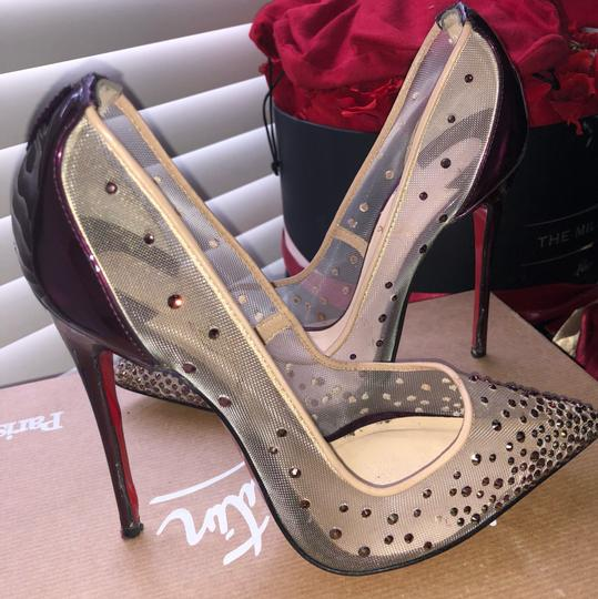 Louis Vuitton purple Pumps